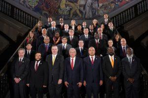 México asume liderazgo de la C