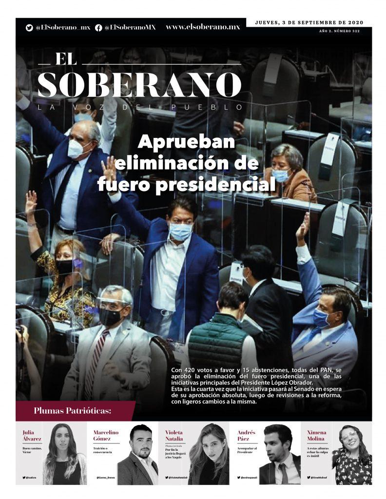 aprueban-eliminacion-de-fuero-presidencial