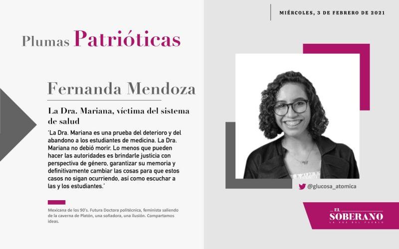 La Dra. Mariana, víctima del s