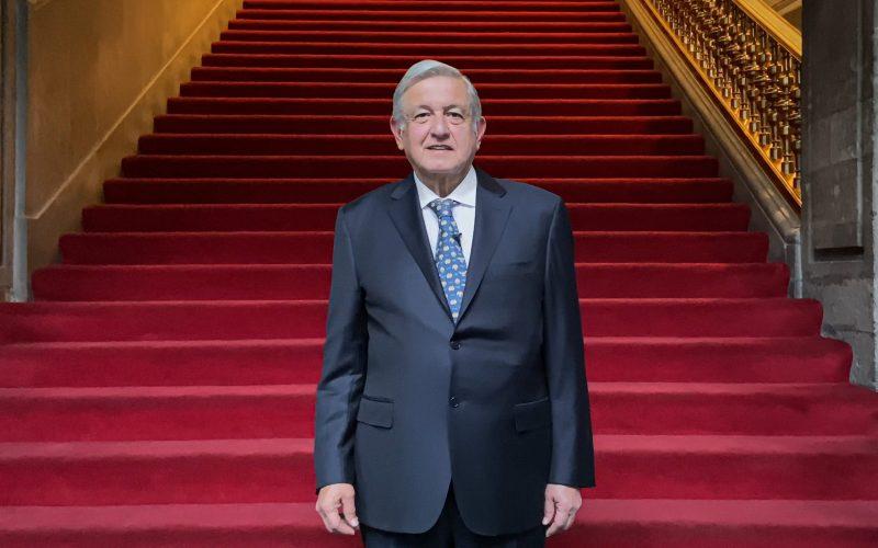 El Presidente López Obrador ve