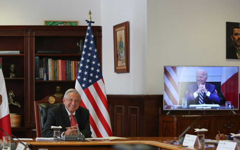 López Obrador y Biden acuerdan