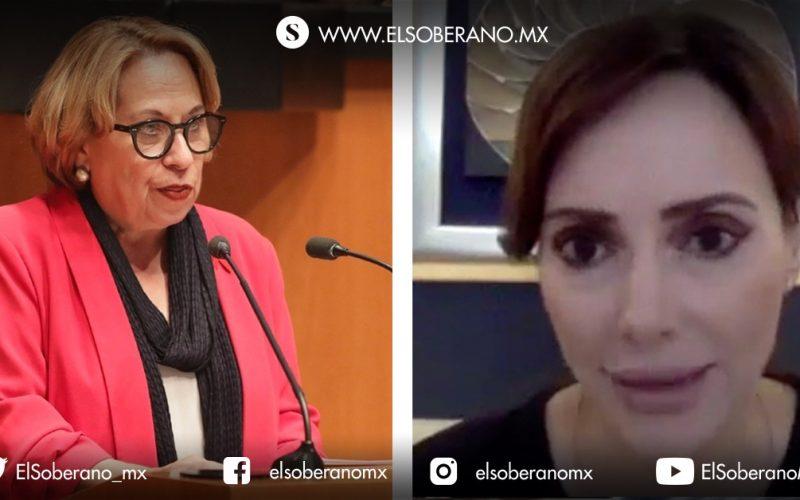 Senadora Bertha Caraveo llama