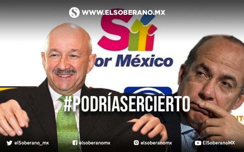 Calderón y Salinas encabezarán