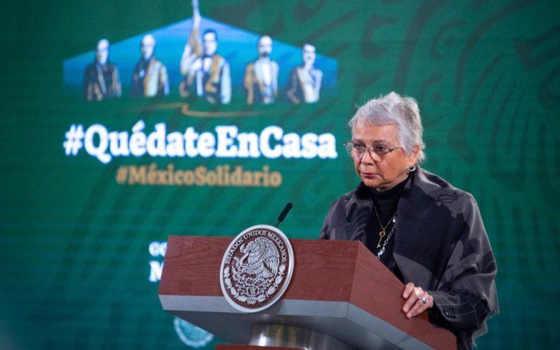 La Secretaria Olga Sánchez Cor